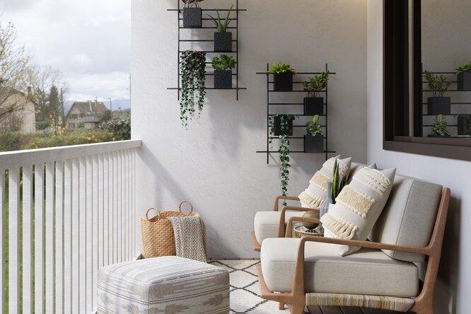Курорт запорогом: 5 идей использования балкона (фото дои после)