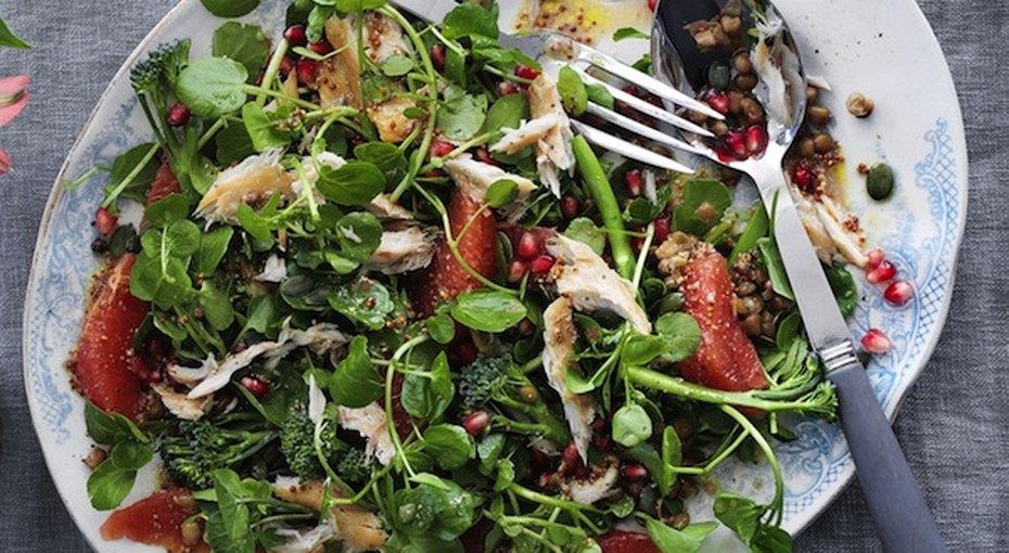 5 вкусных исытных «зимних» салата безмайонеза