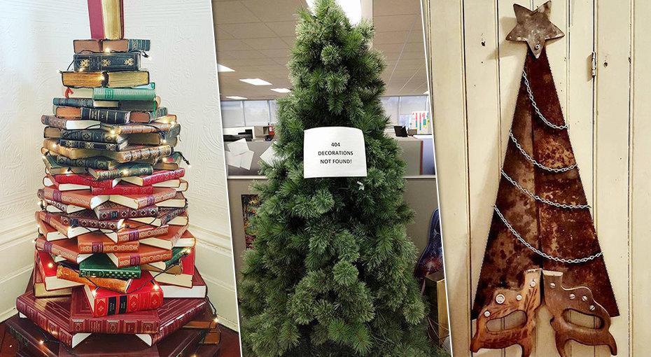 Ловим новогоднее настроение: 10 лучших идей, как создать необычную елку
