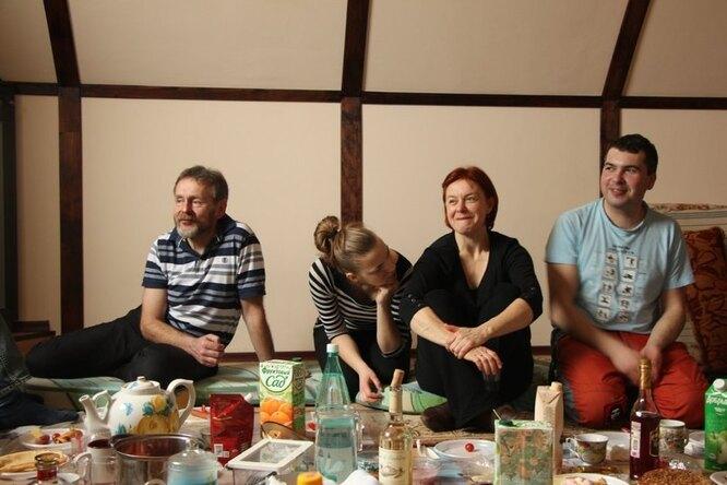 Кристина в семье. Фото из личного архива