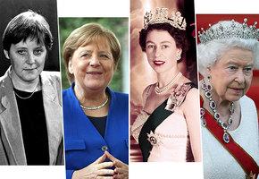 Власть старит? Как выглядели женщины-президенты и королевы в молодости и сейчас