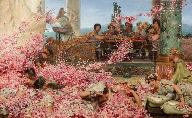 «Розы Гелиогабала», Лоуренс Альма-Тадема. 1888