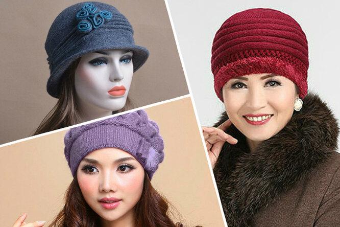 15 шапок, вкоторых все женщины похожи натеток, имодные шапки наосень-зиму
