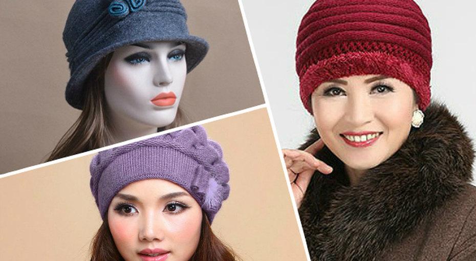15 моделей шапок, вкоторых все женщины похожи натеток