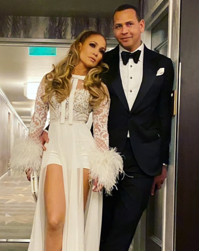 Дженнифер Лопес и Алекс Родриге