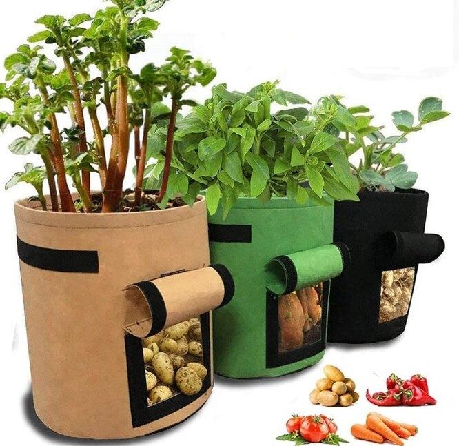 Сумка-горшок для выращивания растений, 478 руб. 86 к. - 598 руб. 76 к.