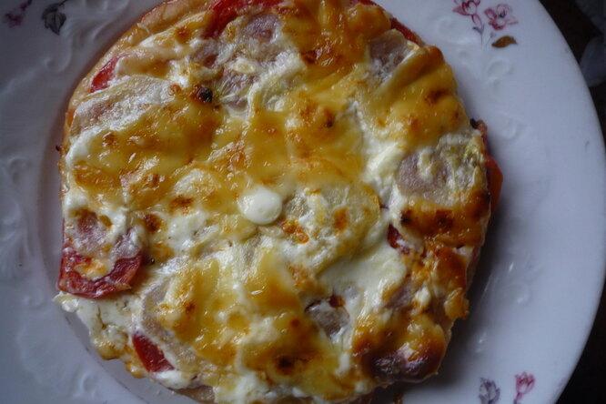 Порционная пицца «Мечта школьника»