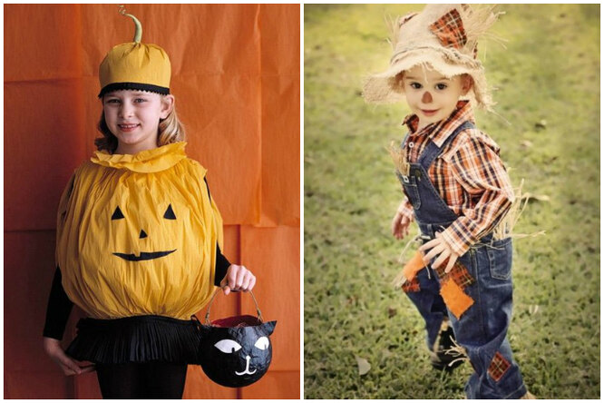 Хэллоуин. 15 гениальных детских костюмов, которые можно сделать самому
