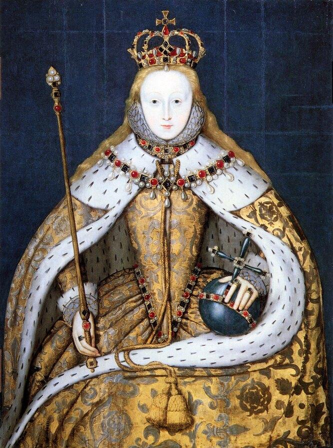Елизавета I, c.1600
