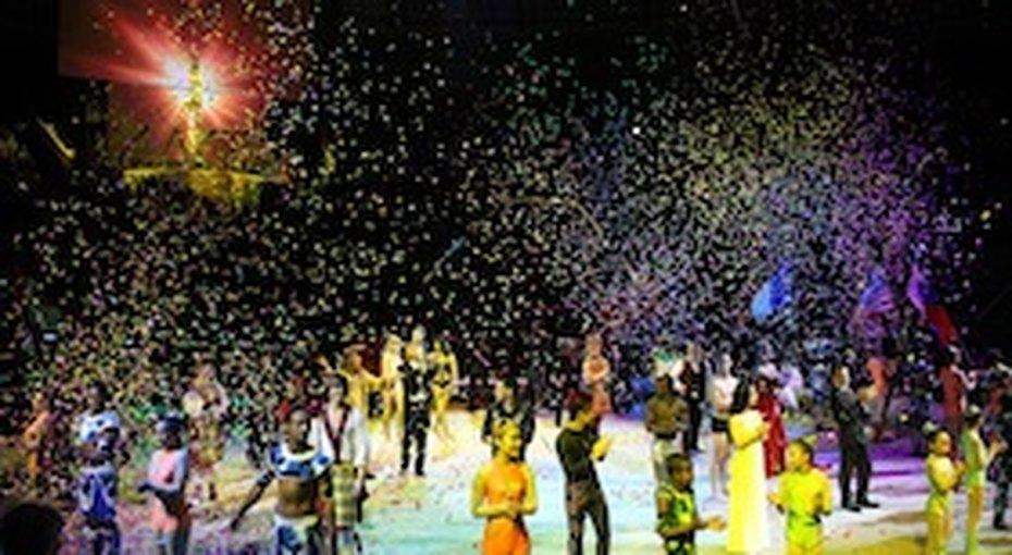 Шоу победителей фестиваля циркового искусства «Идол»