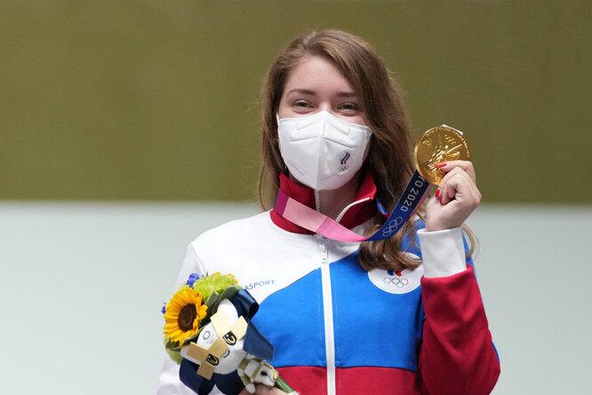 «Золото дляБацарашкиной!» Аккаунт «Ведьмака» поздравил спортсменку спобедой