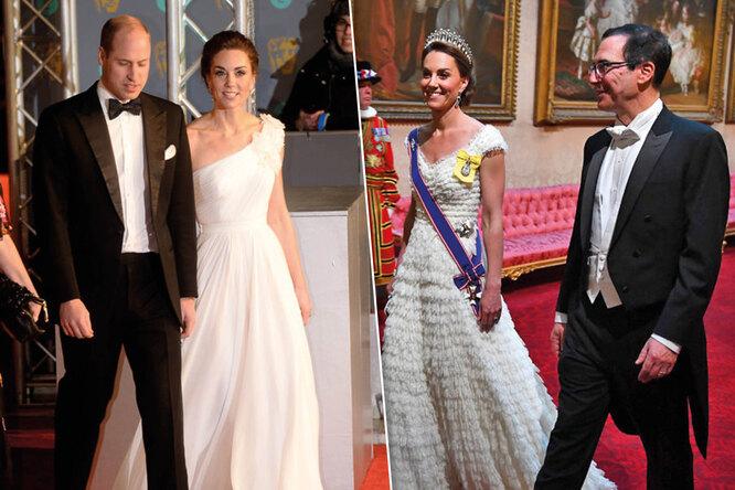 Герцогиня вбелом: шесть лучших платьев Кейт Миддлтон