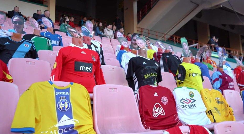 Где ваши маски, ребята? ВБеларуси несмотря наэпидемию проходит национальный чемпионат пофутболу