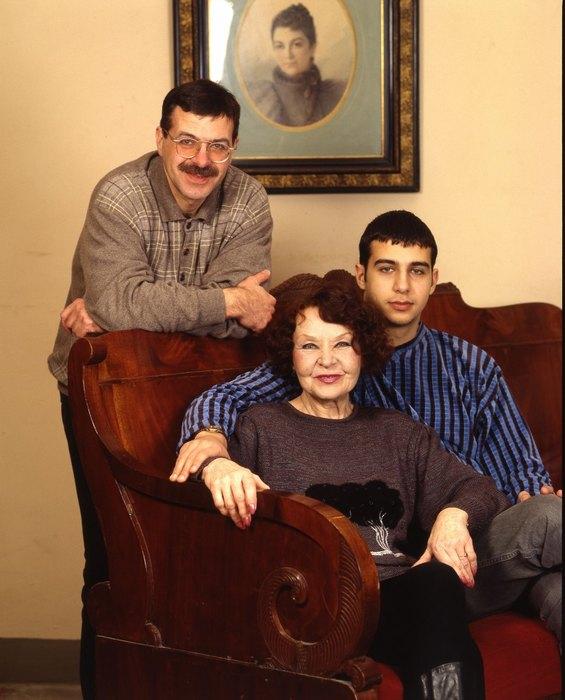 Андрей Ургант, Нина Ургант, Иван Ургант