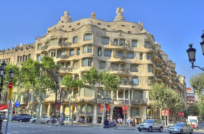 Дом Гауди в Барселоне. Ожидания