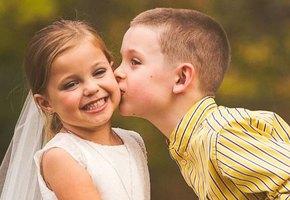 5-летней девочке устроили свадебную фотосессию — перед 4 операцией на сердце