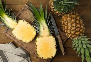 Гавайская пицца, салат, карри, пудинг и еще несколько рецептов с ананасом