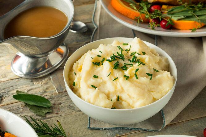 Как приготовить идеальное  картофельное пюре