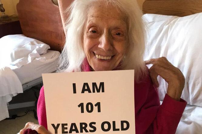 «У нее ДНК суперженщины»:  101-летняя жительница Нью-Йорка пережила испанку, рак икоронавирус