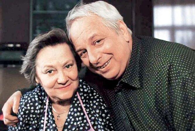 Вадим Тонков с женой Мартой