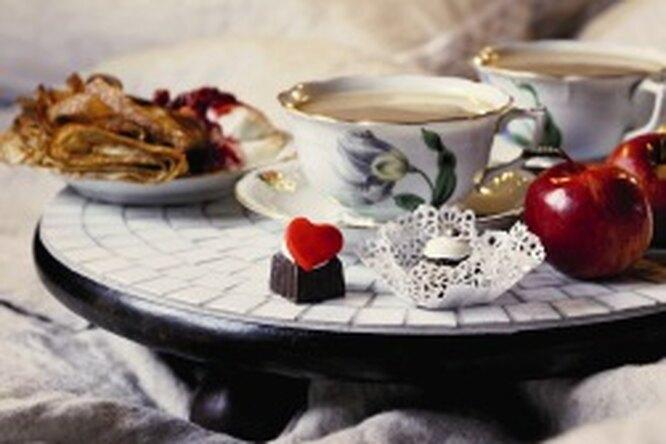 Столик длязавтрака