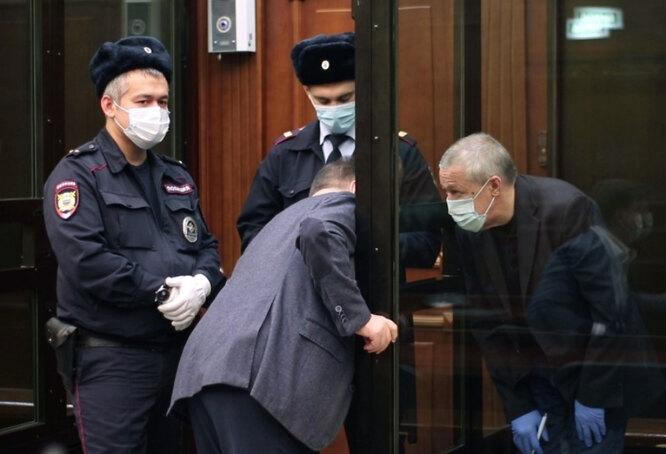 Михаил Ефремов на втором апелляционном заседании в Мосгорсуде