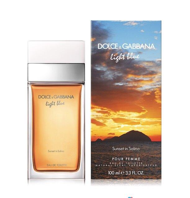 Туалетная вода Light Blue Sunset in Salina, Dolce & Gabbana