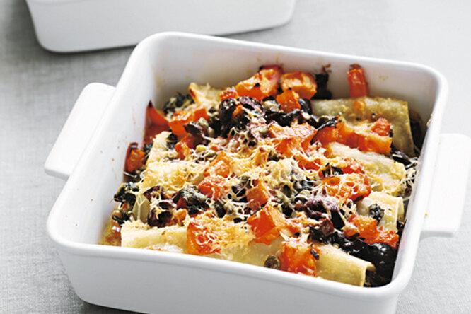 Канеллони со шпинатом и рикоттой