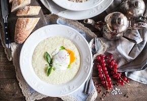 Пшённая и гречневая каша на завтрак. Попробуйте с яйцом пашот или с тирамису