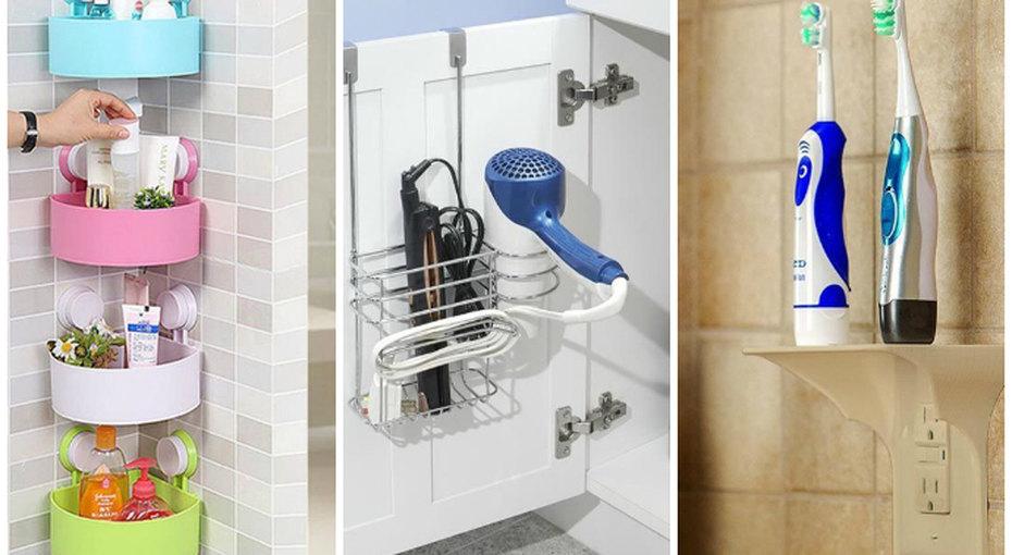 10 идей длямаленькой ванной, которые помогут разложить все пополочкам