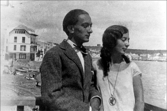 Сальвадор Дали и Анна Мария