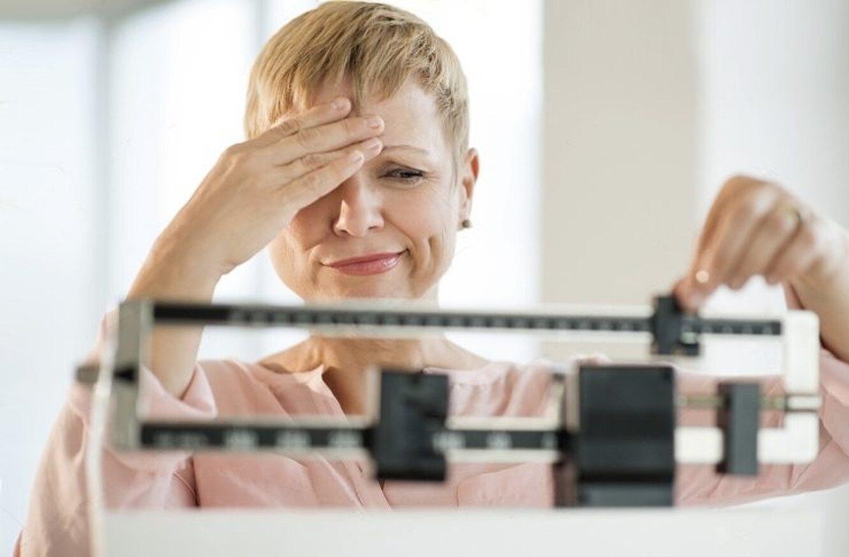 набор веса при климаксе