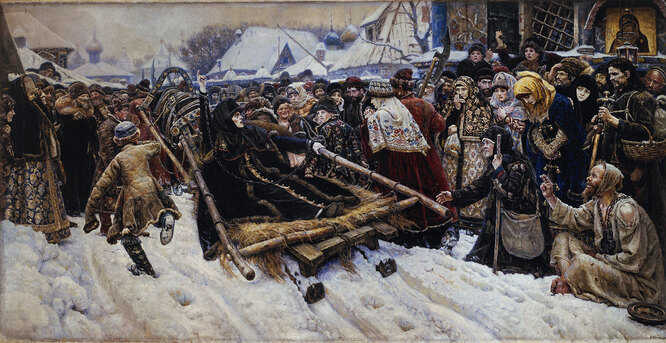«Боярыня Морозова», Василий Суриков. 1884—1887