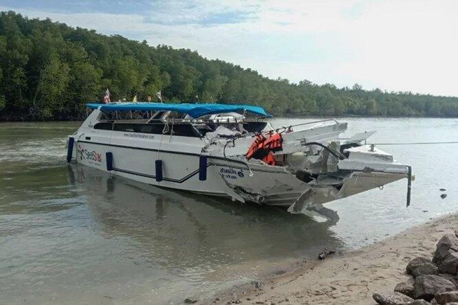 В Тайланде пристолкновении катеров погибло двое детей изРоссии