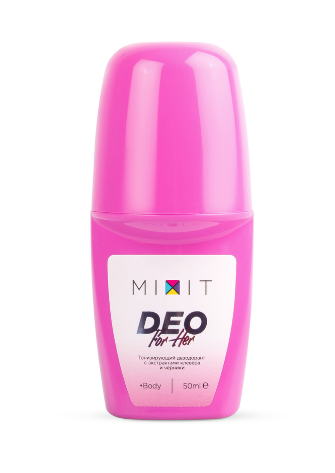 Тонизирующий дезодорант, Mixit, 295 руб