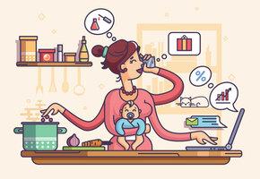 Шесть пунктов плана, который выполняют суперорганизованные мамы (На самом деле нет)