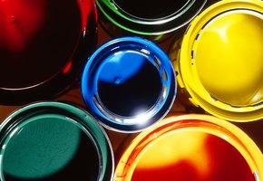 Как преобразить интерьер с помощью пробников краски и малярной ленты