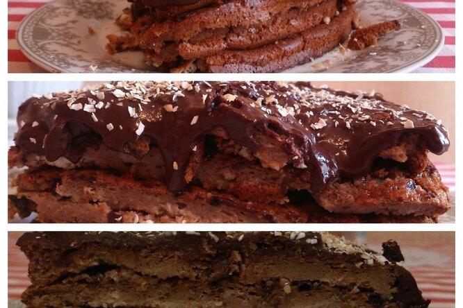 Диетический «зимний» торт со специями
