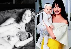 Самые милые фото знаменитостей с детьми