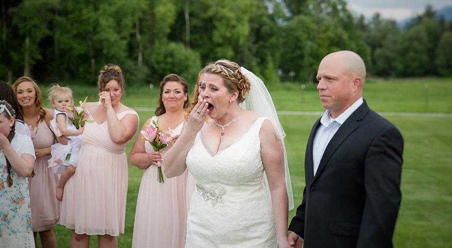 Невеста услышала вдень свадьбы, как бьется сердце ее покойного сына