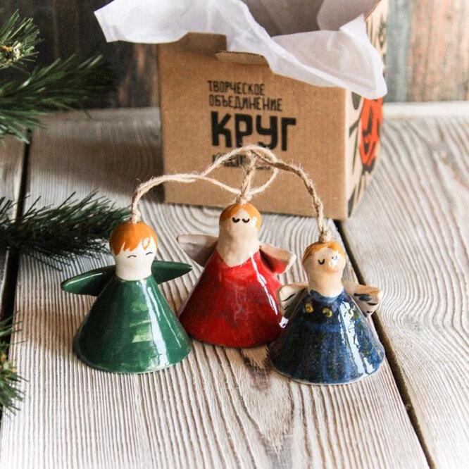 Рождественские ангелы, 600 рублей