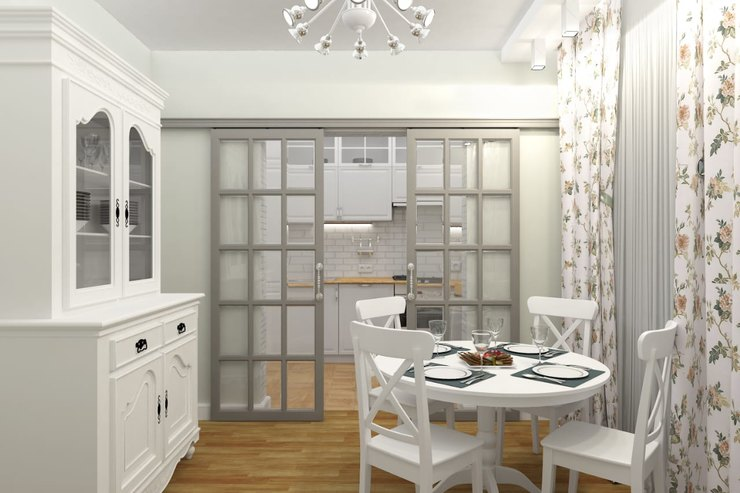 Нужна ли накухне белая мебель? Все заи против
