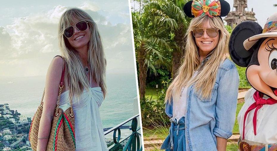 Лето встиле Хайди Клум: пять интересных нарядов топ-модели