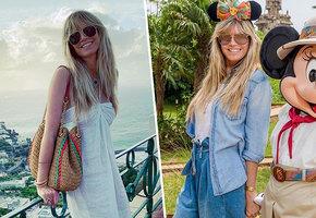 Лето в стиле Хайди Клум: пять интересных нарядов топ-модели