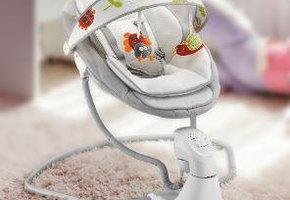 Стульчик для кормления и электрокачели: современные помощники маме