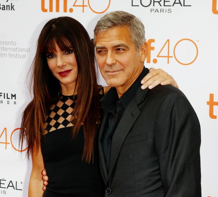 Сандра Буллок иДжордж Клуни
