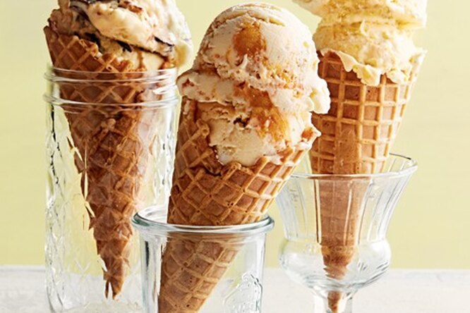 Сливочное мороженое с добавками