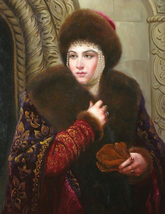 царица мария темрюковна фото чёрной