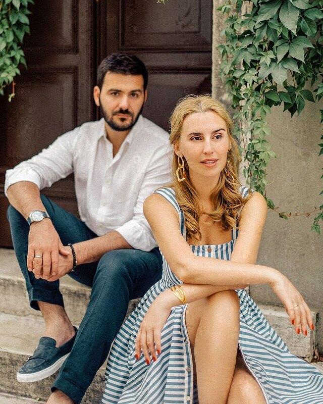 Диана Ходаковская с мужем