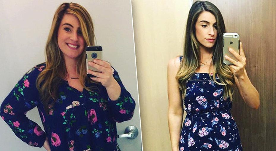 Вызов принят! История девушки, которая похудела на40 килограммов ивыиграла спор